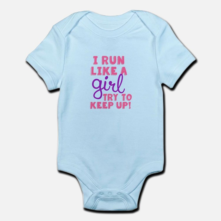 Run Like a Girl 2 Body Suit