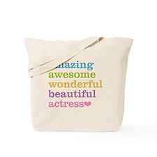 Cute Actress Tote Bag