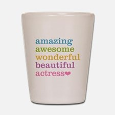 Unique Actor Shot Glass