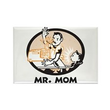 Mr. Mom gifts for dad Rectangle Magnet