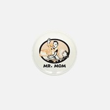 Mr. Mom gifts for dad Mini Button (10 pack)