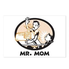 Mr. Mom gifts for dad Postcards (Package of 8)