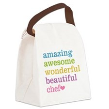 Cute Catering Canvas Lunch Bag
