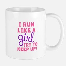 Run Like a Girl 2 Mugs