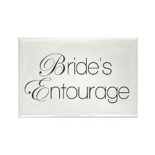 Bride's Entourage Magnets