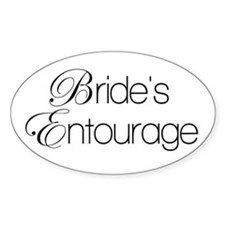Bride's Entourage Decal
