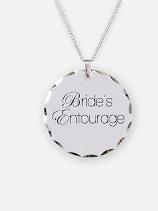 Cute Bachelorette party Necklace Circle Charm
