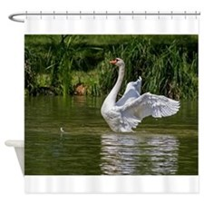 Funny Purity art Shower Curtain