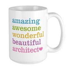 Amazing Architect Mugs