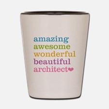 Cute Architecture Shot Glass