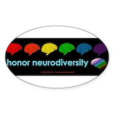 neurodiversity  bumpersticker Decal