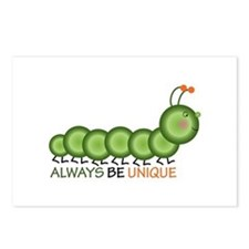 Always Be Unique Postcards (Package of 8)