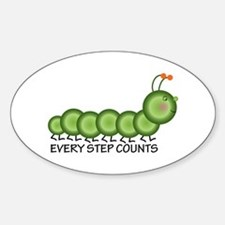 Every Step Counts Decal