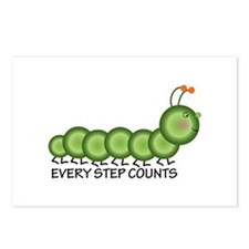 Every Step Counts Postcards (Package of 8)