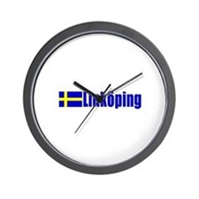 Linkoping, Sweden Wall Clock