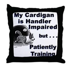 Cardigan Agility Throw Pillow