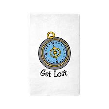 Get Lost 3'x5' Area Rug