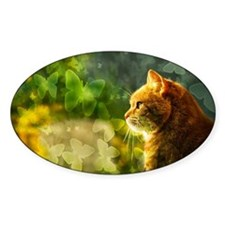 Cat in the Sun Decal