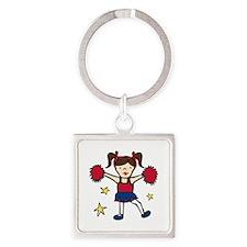 Cheerleader Girl Keychains