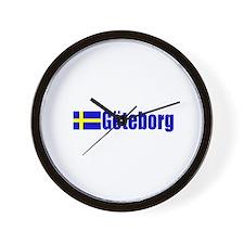 Goteborg, Sweden Wall Clock