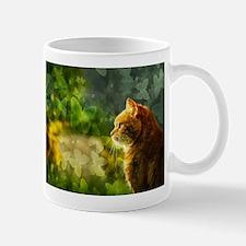 Cat in the Sun Mugs