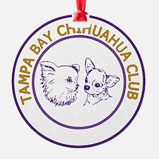 TBCC Logo - Purple and Gold Ornament