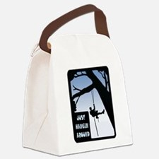 HANGING AROUND Canvas Lunch Bag