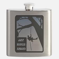HANGING AROUND Flask