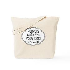 Cute Old friends Tote Bag