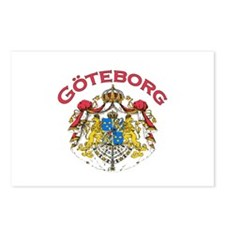 Goteborg, Sweden Postcards (Package of 8)