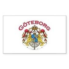 Goteborg, Sweden Rectangle Decal