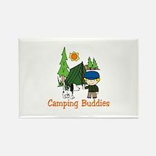 Camping Buddies Magnets