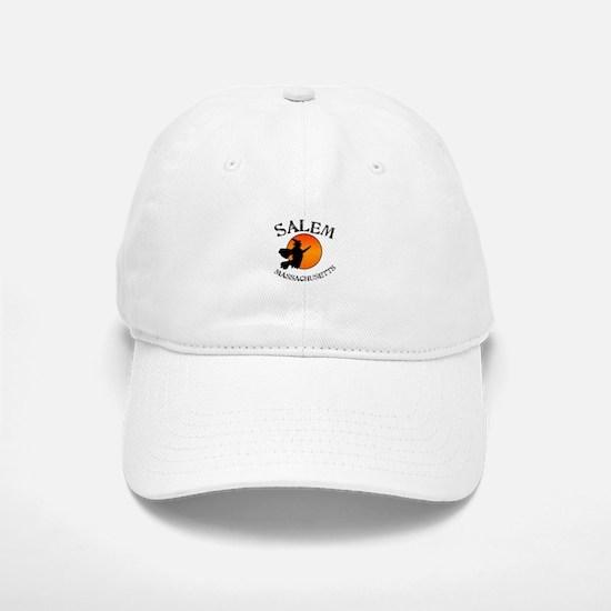Salem Massachusetts Witch Baseball Baseball Cap