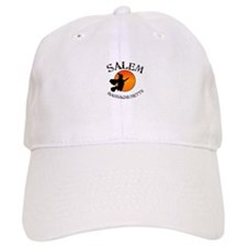 Salem Massachusetts Witch Baseball Cap