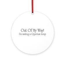 Quantum Leap Ornament (Round)