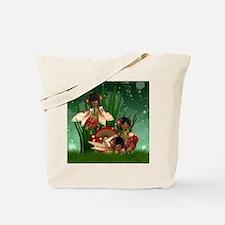 Three Fairies 1103-1 Tote Bag