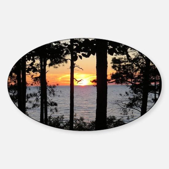 Lake Superior Sunset Decal