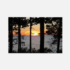 Lake Superior Sunset Magnets