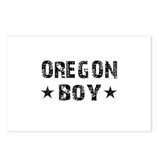 Oregon Boy Postcards (Package of 8)