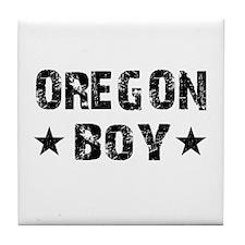 Oregon Boy Tile Coaster