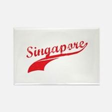 Singapore Rectangle Magnet