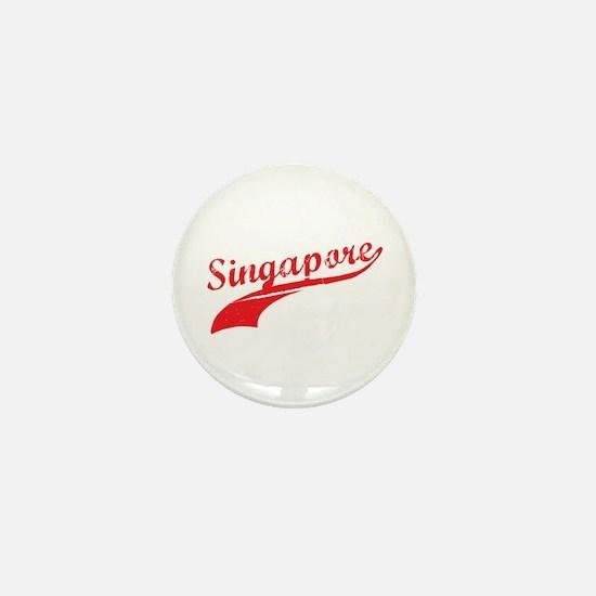 Singapore Mini Button