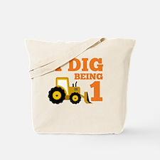 Cute Construction birthday Tote Bag