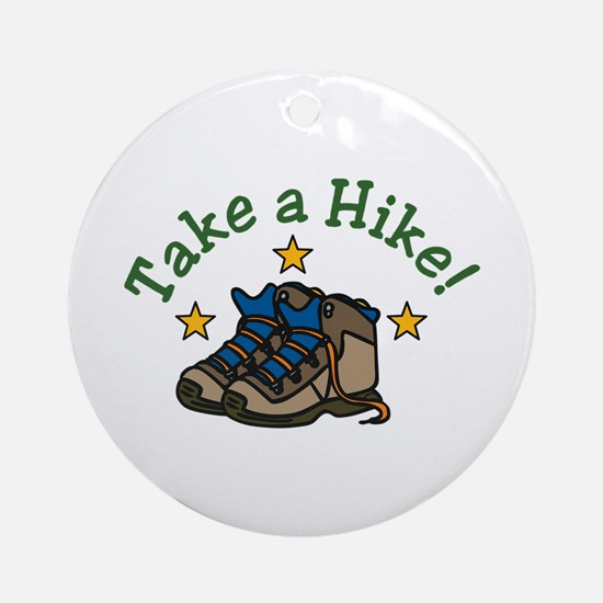 Take a Hike! Ornament (Round)
