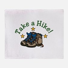 Take a Hike! Throw Blanket