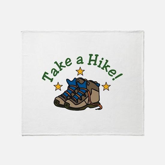 Take a Hike! Throw Blanket