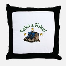Take a Hike! Throw Pillow