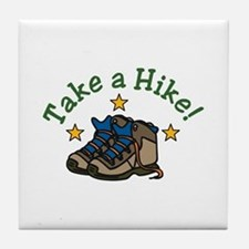 Take a Hike! Tile Coaster