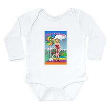 Unique Candy land Long Sleeve Infant Bodysuit