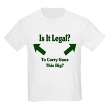 Is it legal to carry guns thi T-Shirt